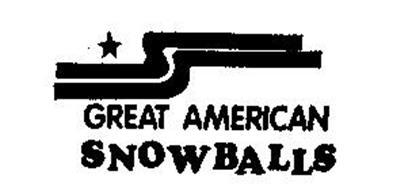 GREAT AMERICAN SNOWBALLS