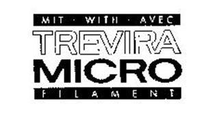 TREVIRA MIT WITH AVEC MICRO FILAMENT