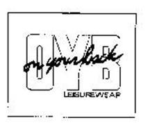 ON YOUR BACK LEISUREWEAR OYB