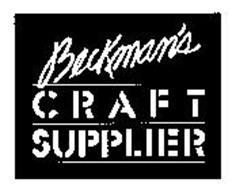 BECKMAN'S CRAFT SUPPLIER