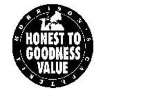 MORRISON'S CAFETERIA HONEST TO GOODNESS VALUE