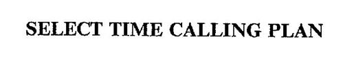 SELECT TIME CALLING PLAN