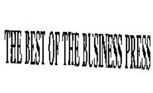 THE BEST OF THE BUSINESS PRESS
