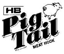 HB PIG TAIL MEAT HOOK