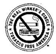 THE REAL WINNER'S CIRCLE TOBACCO FREE AMERICA