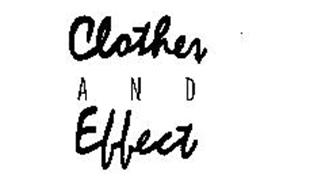 CLOTHES AND EFFECT