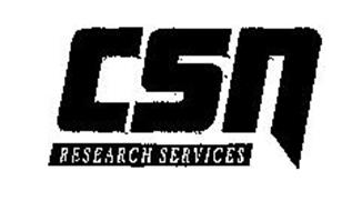 CSN RESEARCH SERVICES