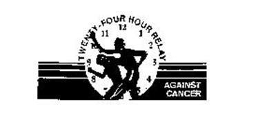TWENTY-FOUR HOUR RELAY AGAINST CANCER 1 2 3 4 5 6 7 8 9 10 11 12
