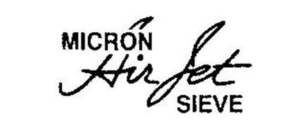 MICRON AIR JET SIEVE