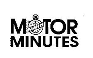 MOTOR MINUTES