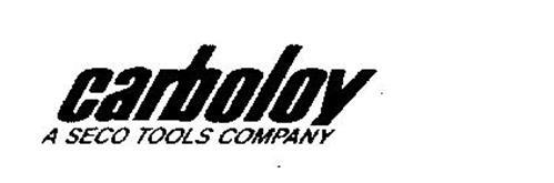 CARBOLOY A SECO TOOLS COMPANY