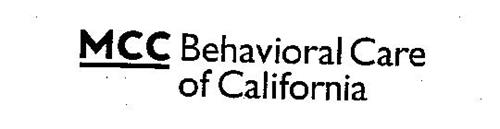 MCC BEHAVIORAL CARE OF CALIFORNIA