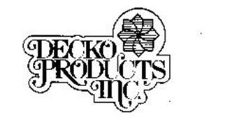 DECKO PRODUCTS INC.