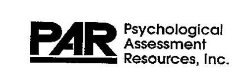 PAR PSYCHOLOGICAL ASSESSMENT RESOURCES, INC.