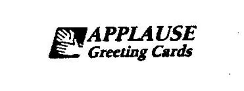 APPLAUSE GREETING CARDS