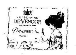 CHAMPAGNE DEVENOGE PRINCESSE ROSE BRUT DEPUIS 1837