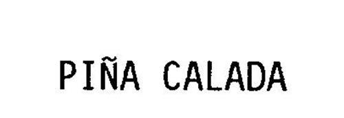 PINA CALADA