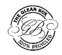 THE GLEAN BOX 100% RECYCLED GB