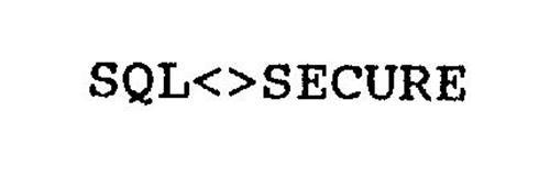 SQL<>SECURE