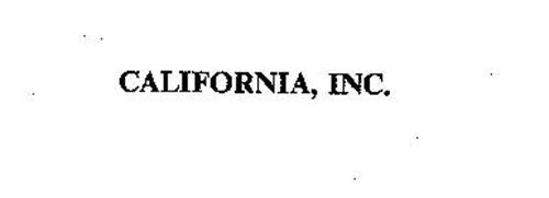 CALIFORNIA, INC.