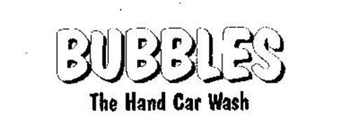 BUBBLES THE HAND CAR WASH