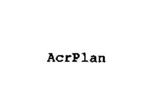 ACRPLAN