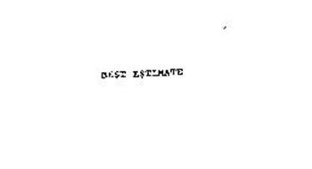 BE$T E$TIMATE