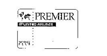 PREMIER UNITED AIRLINES MILEAGE PLUS