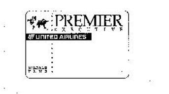 PREMIER EXECUTIVE UNITED AIRLINES MILEAGE PLUS