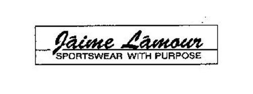 JAIME LAMOUR SPORTSWEAR WITH PURPOSE