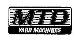 MTD YARD MACHINES
