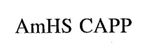 AMHS CAPP