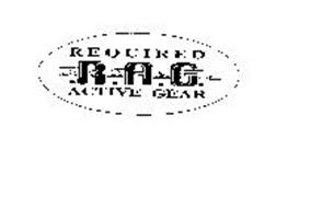 REQUIRED RAG ACTIVE GEAR