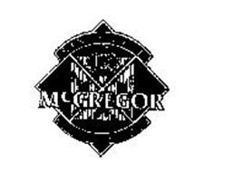 MCGREGOR COORDINATED SPORTSWEAR SINCE 1921