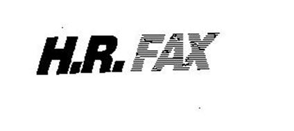 H.R. FAX