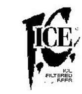 IC ICE FILTERED BEER