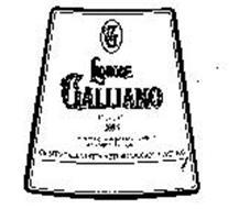 G LIQUORE GALLIANO LIQUEUR 1896 ...L'INCONTRO SEGRETO DI FRESCHE ERBE ALPINE CON IL SAPORE DEI TROPICI... CREATO DALLA DITTA ARTURO VACCARI-LIVORNO