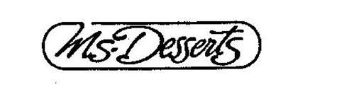 MS. DESSERTS