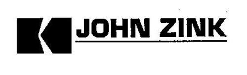 K JOHN ZINK