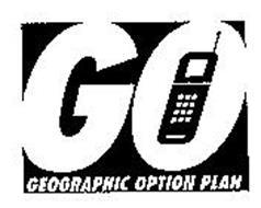 GO GEOGRAPHIC OPTION PLAN