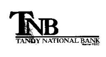 TNB TANDY NATIONAL BANK