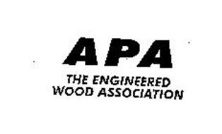 APA THE ENGINEERED WOOD ASSOCIATION