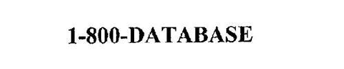 1-800-DATABASE