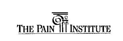 THE PAIN INSTITUTE