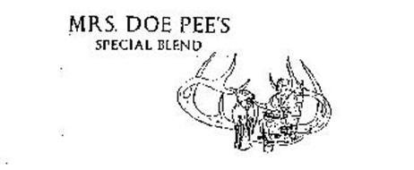 MRS. DOE PEE'S SPECIAL BLEND
