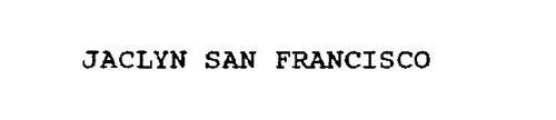JACLYN SAN FRANCISCO