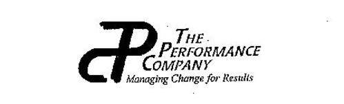 TPC THE PERFORMANCE COMPANY MANAGING CHANGE FOR RESULTS