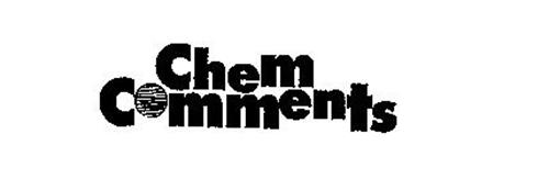 CHEM COMMENTS