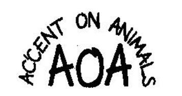 AOA ACCENT ON ANIMALS