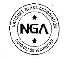 NGA NATIONAL GLASS ASSOCIATION AUTO GLASS TECHNICIAN